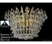 Титания Люкс люстра жучок 6 свечей
