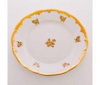 """Веймар """"Роза Золотая 1007"""" набор тарелок 17см из 6ти штук десертных"""