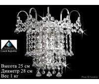 Титания Люкс бра 2 свечи Платина