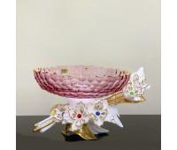 Cevik Group Цветная ваза для фруктов 36см