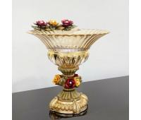 Cevik Group Розы ваза для фруктов 35см