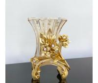 Cevik Group Золотые Цветы ваза для цветов 30 см