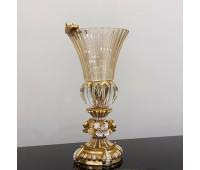 Cevik Group Золотые Цветы ваза для цветов 35 см