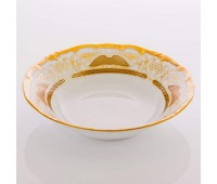 """Веймар """"Золотая Симфония 427"""" набор салатников 16 см из 3х штук"""