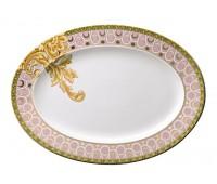 """Rosenthal Versace """"Бизант"""" блюдо овальное 34 см"""
