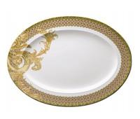 """Rosenthal Versace """"Бизант"""" блюдо овальное 40см"""