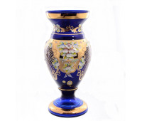 Синяя Лепка E-V ваза для цветов 35см