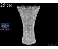 Хрусталь Снежинка Glasspo ваза для цветов 25см