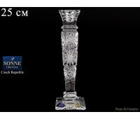 Хрусталь Снежинка Sonne Crystal подсвечник 20,5см