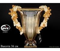 Cevik Group Виноград амбр Ваза для цветов высота 36см