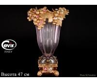 Cevik Group Виноград розовая ваза для цветов 47см
