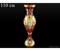 Красная Лепка E-V ваза для цветов 110см