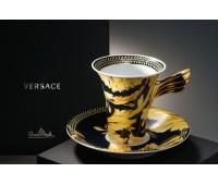 """Rosenthal Versace """"Ванити"""" кофейная пара 180мл 2 предмета"""