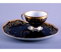 "Веймар ""Ювел Синий 801"" набор для чая Эгоист 210мл"