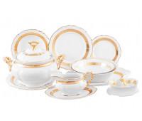 Тхун Лента Золотая столовый сервиз на 6 персон 28 предметов