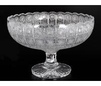 Хрусталь Снежинка Glasspo ваза для фруктов 33см