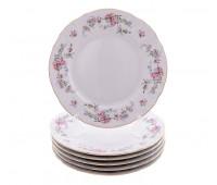 Бернадотт Дикая Роза набор тарелок 17см десертных 6 штук