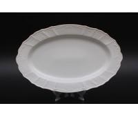 Бернадот Белый  Блюдо овальное 36см