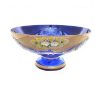 Синяя Лепка E-V ваза для фруктов 27см