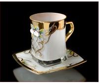 Белая Лепка чайная пара 250мл