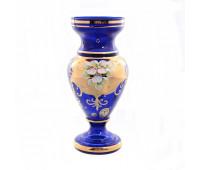 Синяя Лепка E-S ваза для цветов 22см