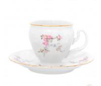 Бернадотт Дикая Роза набор чашек с блюдцами для кофе 170мл 6 штук
