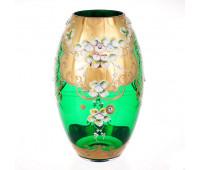 Зеленая Лепка Богатая ваза для цветов 30см
