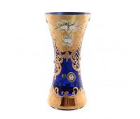 Синяя Лепка E-V ваза для цветов 22см