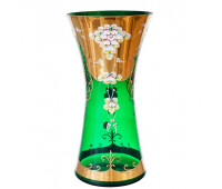 Зеленая Лепка Богатая ваза для цветов 40см