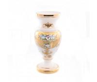 Белая Лепка ваза для цветов 26см
