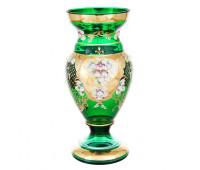 Зеленая Лепка Богатая ваза для цветов 35см