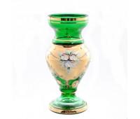 Зеленая Лепка Богатая ваза для цветов 22см