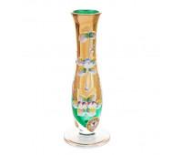 Зеленая Лепка Богатая ваза для цветов 18см