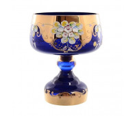 Синяя Лепка E-S ваза для конфет 18см