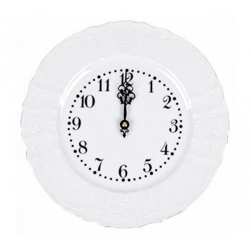 Бернадотт Белый часы настенные 22см