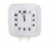 Бернадотт Белый часы настенные 26см