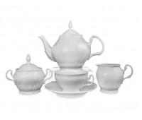 Бернадотт 0000 сервиз чайный на 6 персон из 15ти предметов