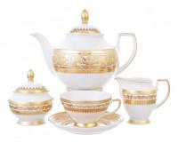 """Falken Porsellan """"Диадем Крем Голд"""" чайный сервиз на 6 персон из 15ти предметов"""