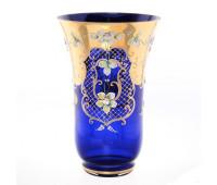 Синяя Лепка E-S ваза для цветов 30см