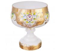 Белая Лепка E-V ваза для конфет 23см