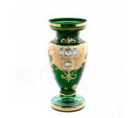 Зеленая Лепка ваза для цветов 26см
