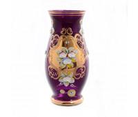 Лепка Фиолетовая Смальта ваза для цветов 22см