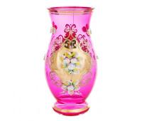 Лепка Розовая Смальта ваза для цветов 22см