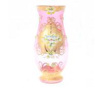 Лепка Розовая Смальта ваза для цветов 30см