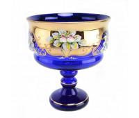 Синяя Лепка E-S ваза для конфет 20см