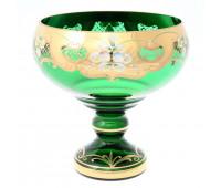 Зеленая Лепка E-S ваза для фруктов 26см