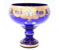 Синяя Лепка E-S ваза для фруктов 26см