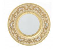 "Falken Porselan ""3D Алена Крем Голд"" набор тарелок 28,5 см 6 штук"