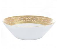 """Falken Porselan """"3D Алена Крем Голд"""" набор салатников 19 см 6 штук"""