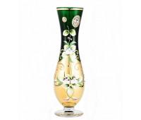Зеленая Лепка ваза для цветов 24см